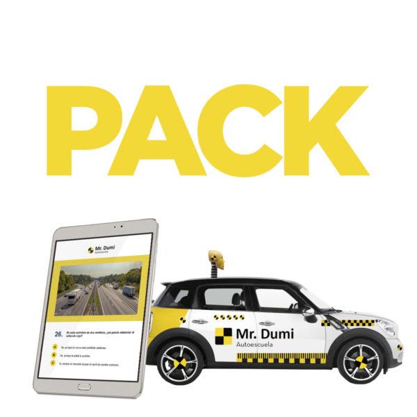 Tu pack teórico + práctico económico del carnet de conducir en Murcia con Autoescuela Mr. Dumi al mejor precio